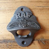 Wall Mounted Bottle Opener R.A.F
